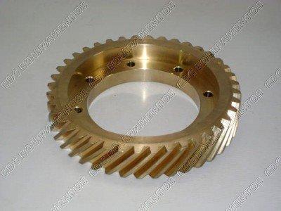 Coroa (Roda Helicoidal Completa) 40 dentes para Fecula